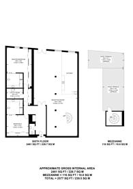 Large floorplan for Metropolitan Wharf, Wapping, E1W