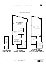 Large floorplan for Cheam Common Road, Worcester Park, KT4