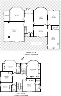 Large floorplan for Broad Walk, Winchmore Hill, N21