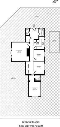 Large floorplan for Dukes Meadow, Chiswick, W4