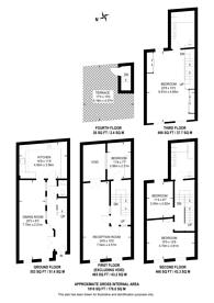 Large floorplan for Battersea Square, Battersea Square, SW11