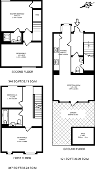 Large floorplan for South Molton Road, Canning Town, E16
