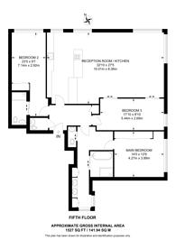 Large floorplan for Babmaes Street, St James's, SW1Y