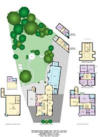 Large floorplan for Westbury Road, Ealing, W5