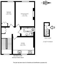Large floorplan for Albion Road, Newington Green, N16