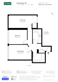 Large floorplan for Ronalds Road, Islington, N5