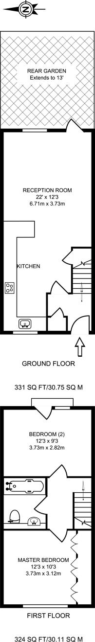Large floorplan for Whiteadder Way, Isle Of Dogs, E14