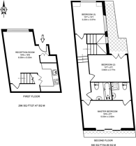 Large floorplan for Witham Road, West Ealing, W13
