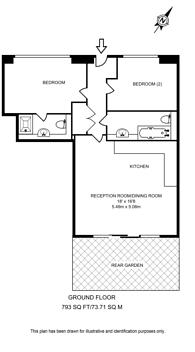 Large floorplan for The Denim Factory, Shoreditch, E1