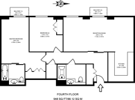 Large floorplan for Great Minster House, Westminster, SW1P