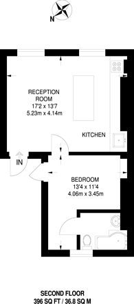 Large floorplan for Princess Road, Primrose Hill, NW1