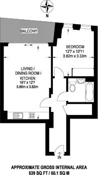 Large floorplan for Stratford Central, Stratford, E15