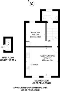 Large floorplan for Gunter Grove, Chelsea, SW10