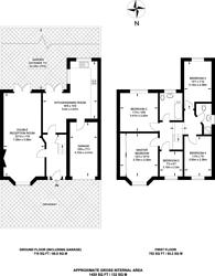 Large floorplan for View Close, Harrow, HA1