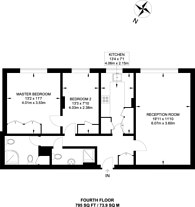 Large floorplan for Sussex Square, Hyde Park Square, W2