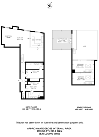 Large floorplan for Wapping Wall, Wapping, E1W
