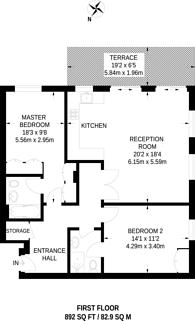 Large floorplan for Owen Street, Angel, EC1V