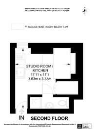 Large floorplan for Hardman Road, Kingston, KT2