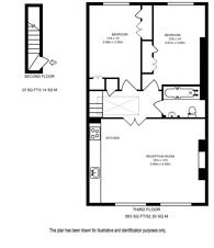 Large floorplan for Moorhouse Road, Artesian Village, W2