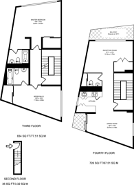 Large floorplan for Garnet Street, Wapping, E1W