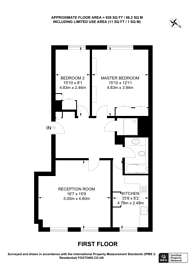 Large floorplan for Harley Street, Marylebone, W1G