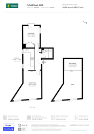 Large floorplan for Fyfield Road, Brixton, SW9