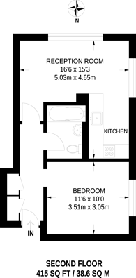 Large floorplan for Adelina Grove, Whitechapel, E1