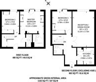 Large floorplan for Pimlico Place, Guildhouse Street, Pimlico, SW1V