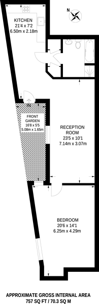 Large floorplan for Hallings Wharf, Stratford, E15