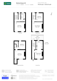 Large floorplan for Ritchie Street, Islington, N1