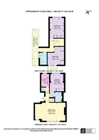 Large floorplan for Walton Street, Knightsbridge, SW3