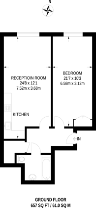 Large floorplan for Stane Grove, Clapham North, SW9