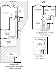 Large floorplan for Nether Street, Finchley, N3