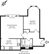 Large floorplan for Homer Drive, Isle Of Dogs, E14