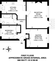 Large floorplan for Guildford, Guildford, GU1