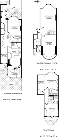Large floorplan for Argyll Road, Kensington, W8