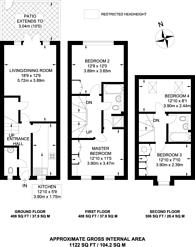 Large floorplan for Forrest Place, Shere, Guildford, GU5