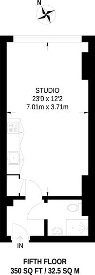 Large floorplan for Long Lane, Borough, SE1