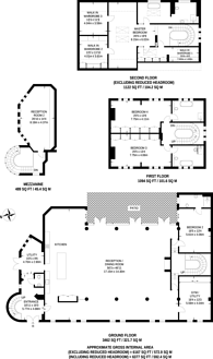 Large floorplan for Kenmont Gardens, North Kensington, NW10