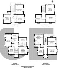 Large floorplan for Church Grove, Kingston, KT1