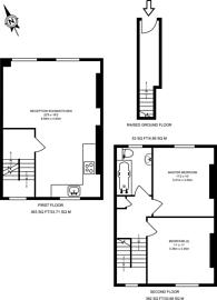Large floorplan for Elmore Street, East Canonbury, N1