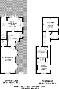 Large floorplan for Dundonald Road, Wimbledon, SW19