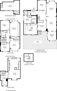 Large floorplan for The Ridgeway, Golders Green, NW11