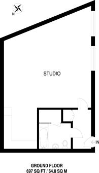 Large floorplan for Northcote Avenue, Ealing Broadway, W5