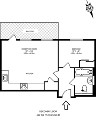 Large floorplan for Pandora Court, Canning Town, E16