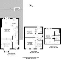 Large floorplan for Groom Crescent, Wandsworth, SW18