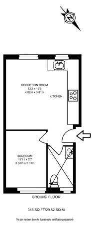 Large floorplan for Wynyatt Street, Clerkenwell, EC1V