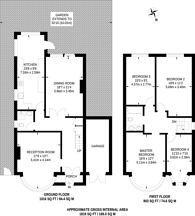 Large floorplan for Popes Lane, Ealing, W5
