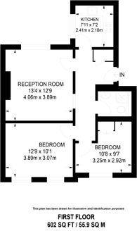 Large floorplan for Willow Road, Hampstead, NW3