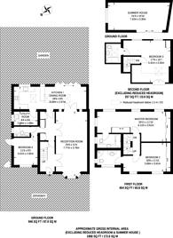 Large floorplan for Highland Road, Northwood Hills, HA6